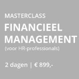 Masterclass Financieel Management