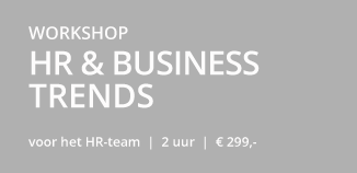 Workshop HR Business trends